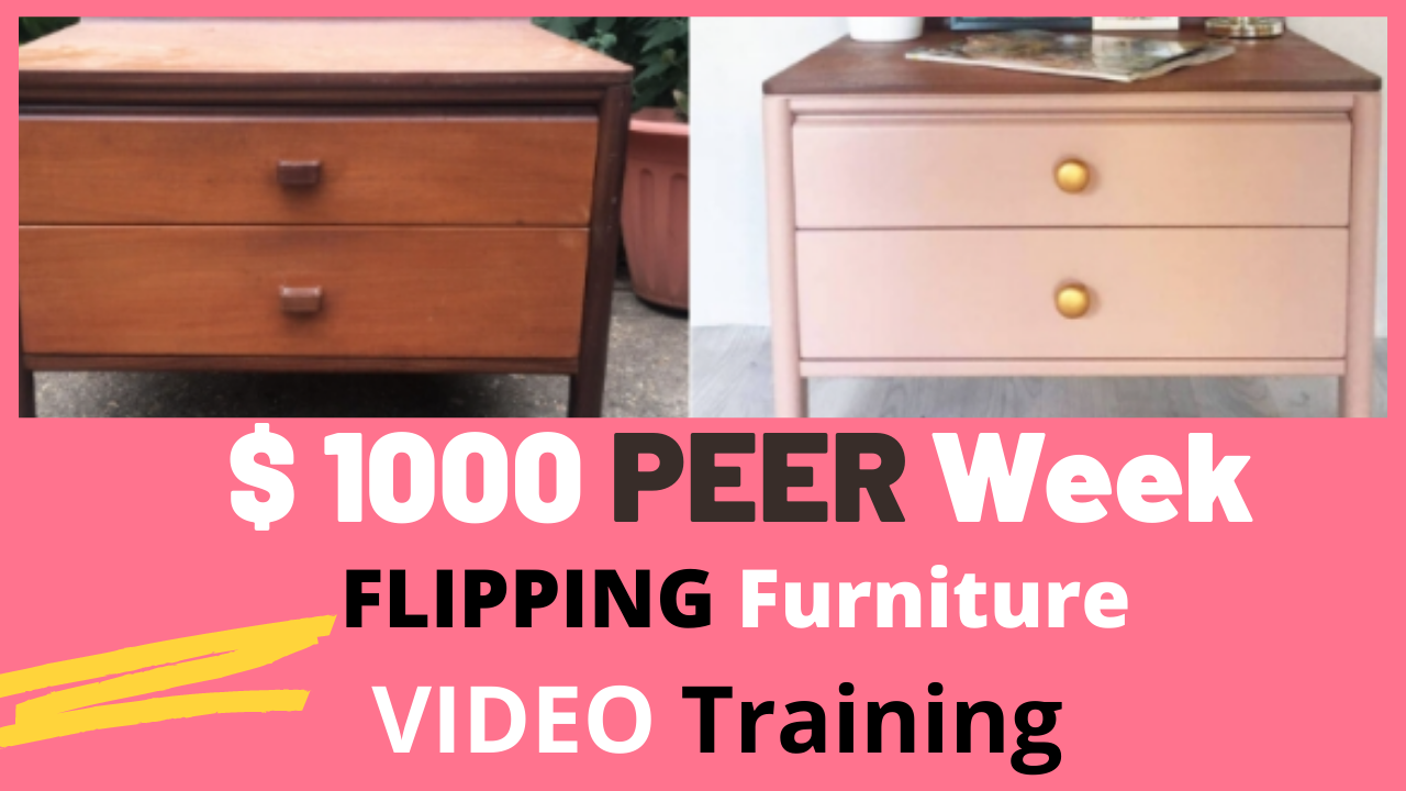 How to Make $ 1000 a week Flipping Furniture USA 2021